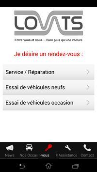 Garage des Lovats apk screenshot