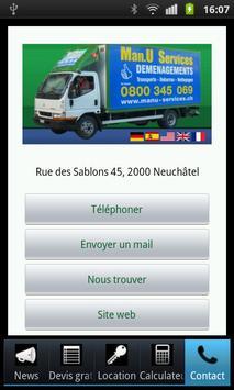 Man.U Services Déménagement apk screenshot