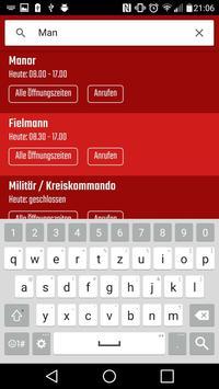 Solothurner Öffnungszeiten apk screenshot
