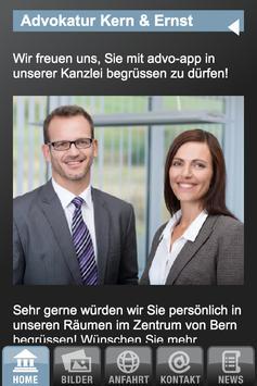 Advokatur Kern und Ernst apk screenshot