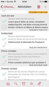 Infomanager apk screenshot