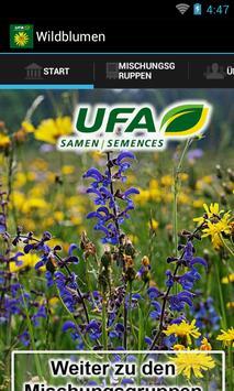UFA Wildblumen poster