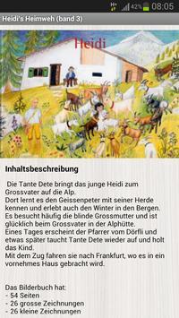 Heidi Bilderbuch apk screenshot