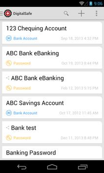 DigitalSafe Swiss Data Safe apk screenshot