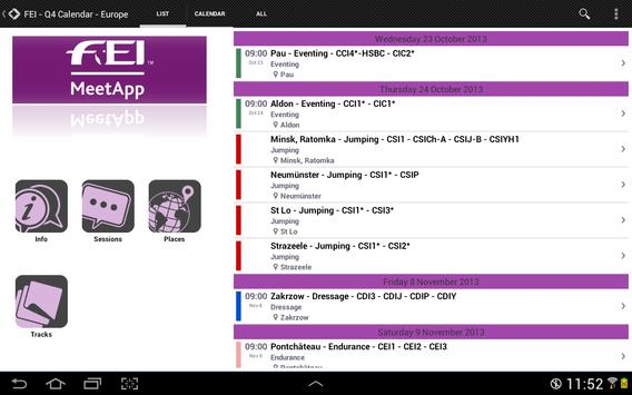 FEI MeetApp apk screenshot