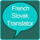 French to Slovak Translator icon
