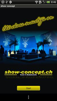 Show-Concept poster