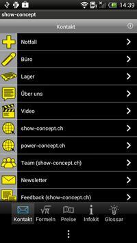 Show-Concept apk screenshot