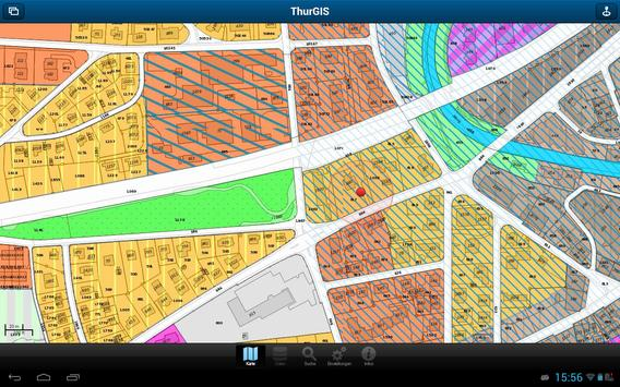 ThurGIS apk screenshot