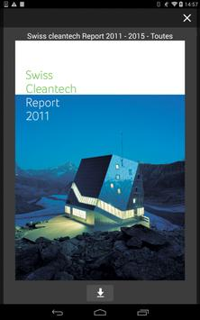 Swiss Cleantech Report apk screenshot