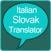 Italian to Slovak Translator icon
