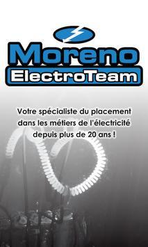 Moreno ElectroTeam poster