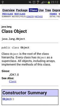 Java Manuel offline poster