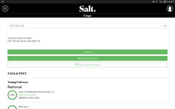 Salt Mobile apk screenshot