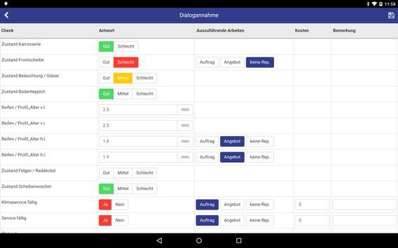 Stieger Annahme-App apk screenshot