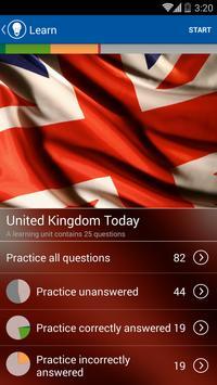 UK Citizenship Test apk screenshot