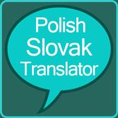 Polish to Slovak Translator icon