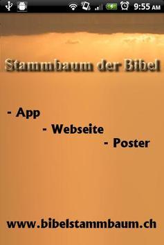 Bibelstammbaum von Jesus poster