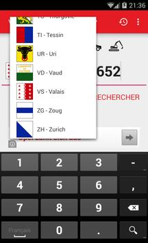 Swiss Plates Autoindex apk screenshot