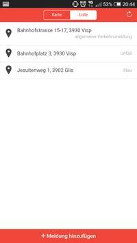 Verkehr Wallis apk screenshot
