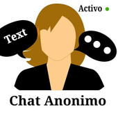 Chat anónimo icon