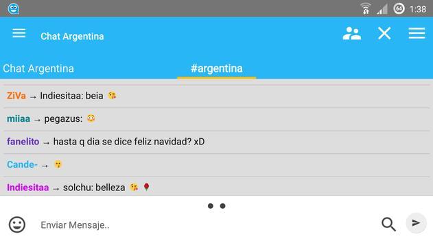 Chat Argentina apk screenshot