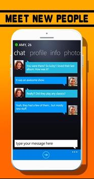 Chat Badoo Meet New Dating Tip apk screenshot