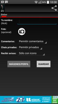 Chat Fan Justin Bieber apk screenshot