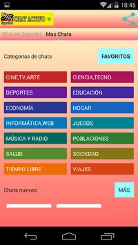 Chat en Español apk screenshot