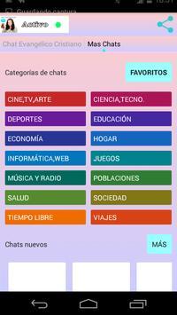 Chat Evangélico Cristiano apk screenshot