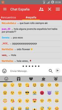 Chat España apk screenshot