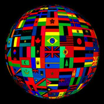Flags of the world. poster