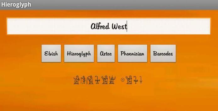 Your name in.. apk screenshot