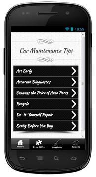 Cheap Car Repairs Tips poster