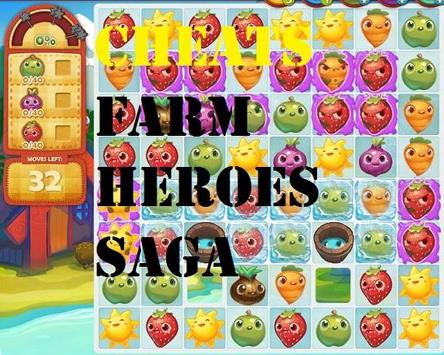 Cheats for Farm Heroes Saga poster