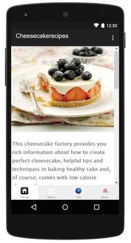 Cheesecake Recipe poster
