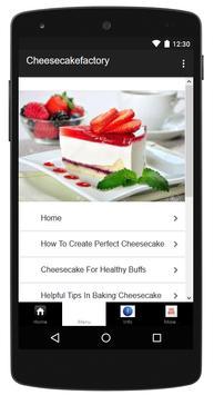 Cheesecake Recipe apk screenshot