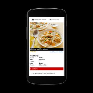 Chicken and Dumplings Recipe apk screenshot