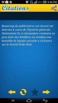Citations de Investissement apk screenshot