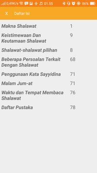 Shalawat Pilihan apk screenshot