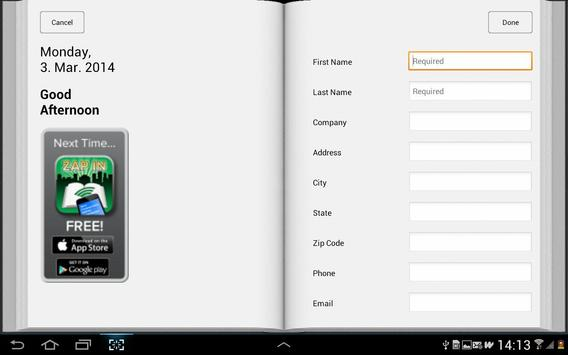 ZAP IN Office apk screenshot