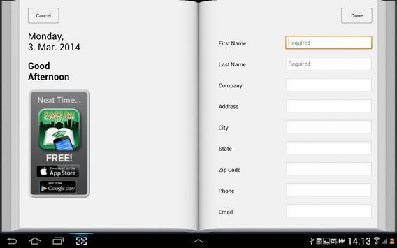 ZAP IN Superstar apk screenshot