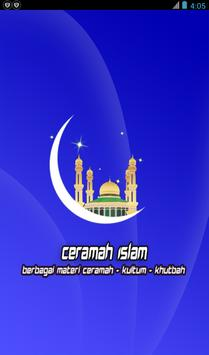 Ceramah Islam poster
