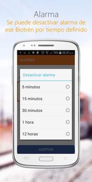 Biotren apk screenshot