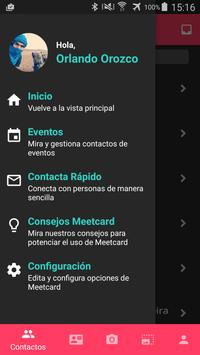 Meetcard apk screenshot