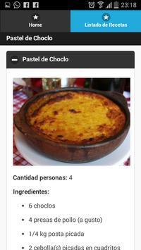 Recetas de Cocina apk screenshot