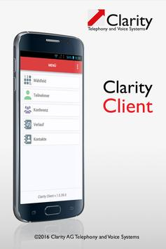 Clarity Client poster