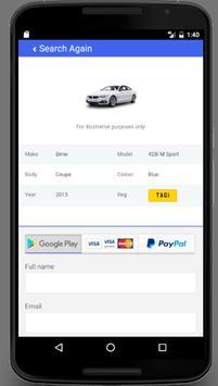 Simple Car Check apk screenshot
