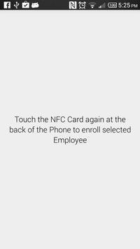 NFC Attendance apk screenshot