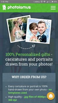 Caricatures,portraits,cartoons poster